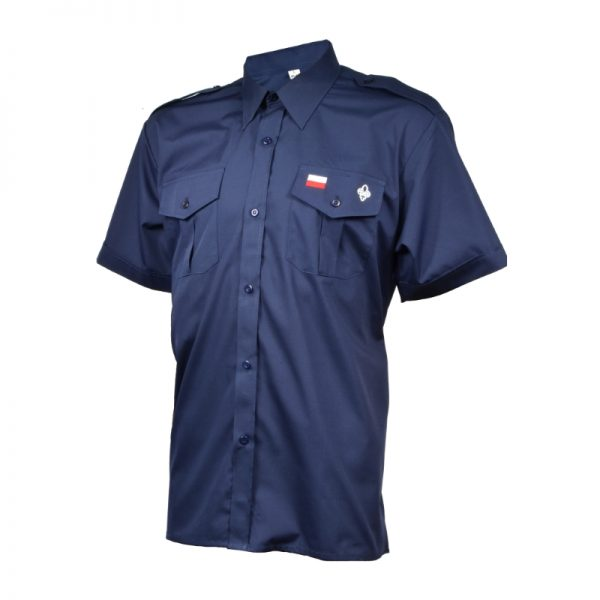 Koszula Instruktorska Granatowa Męska ZHP
