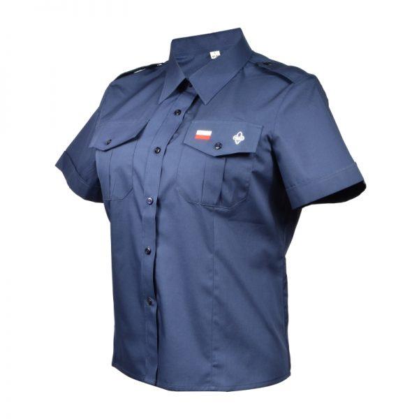 Koszula Instruktorska Granatowa Damska ZHP