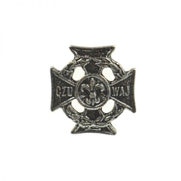 Krzyż Harcerski Miniatura Pin
