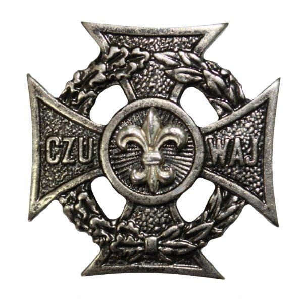 Krzyż Harcerski Srebrna Lilijka