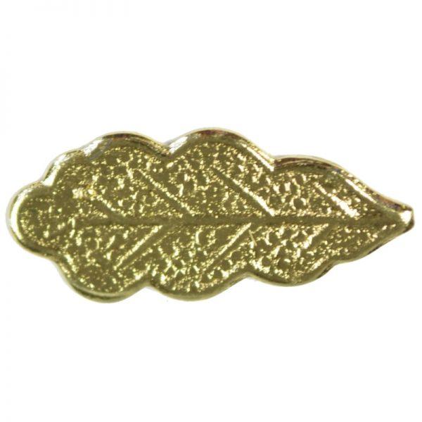 Znaczek Listek Dębu Złoty