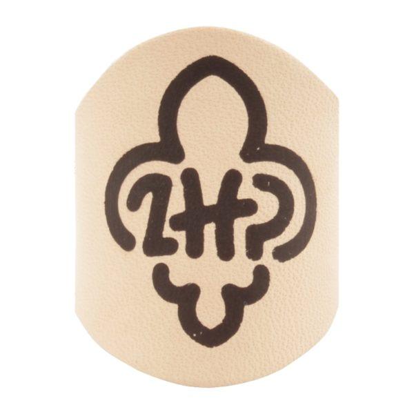 Pierścień Skautowy Wypalany Logo ZHP