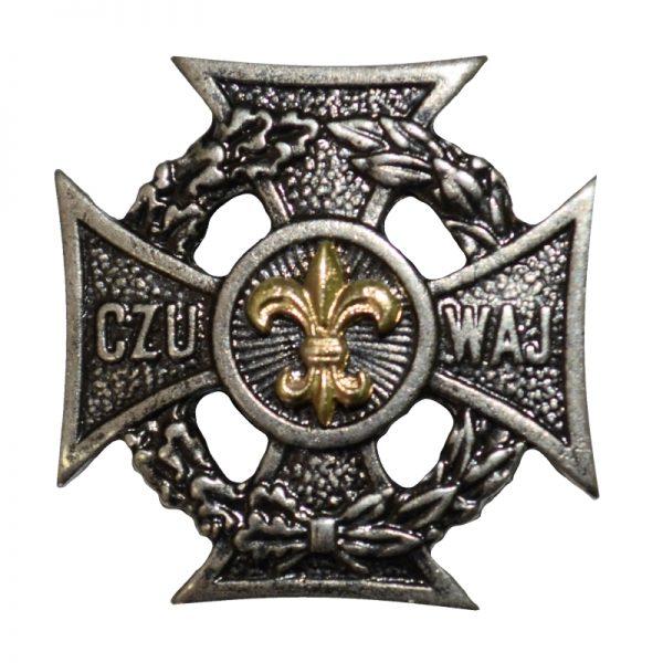 Krzyż Harcerski Złota Lilijka