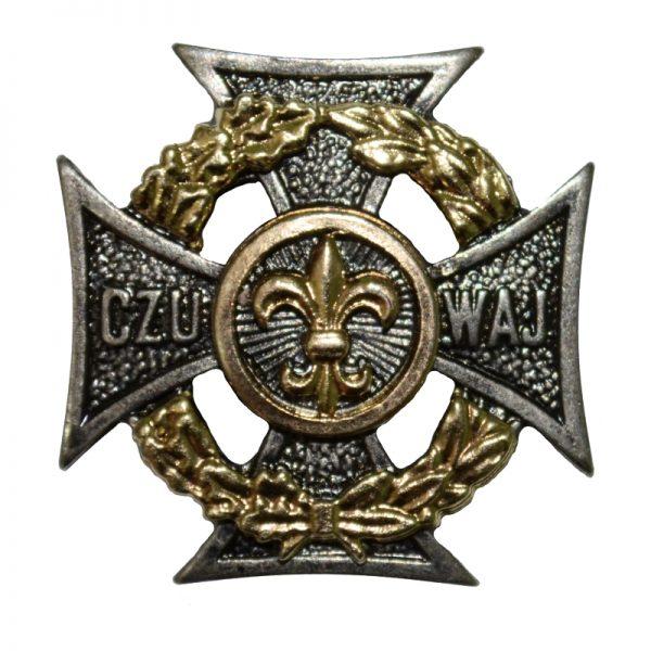 Krzyż Harcerski Złota Lilijka, Okrąg i Wieniec