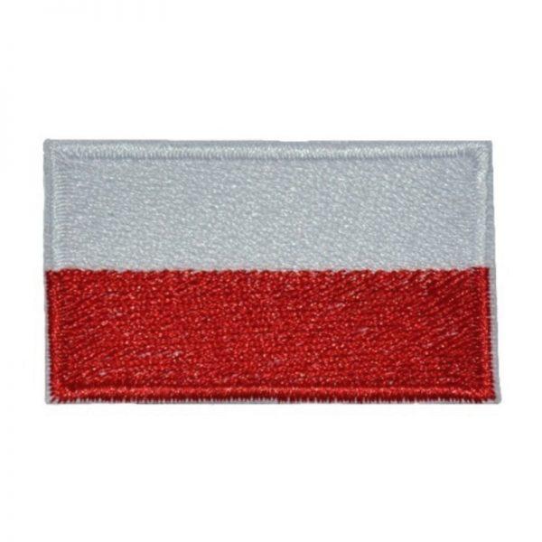 Plakietka Flaga Polski Klej