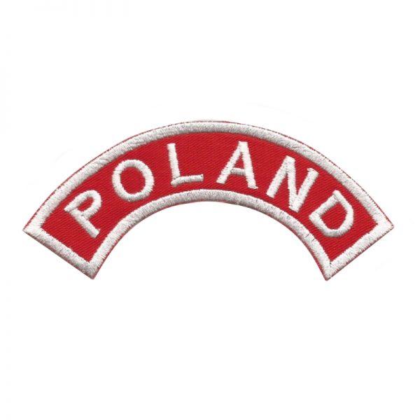 Plakietka Naramienna Poland