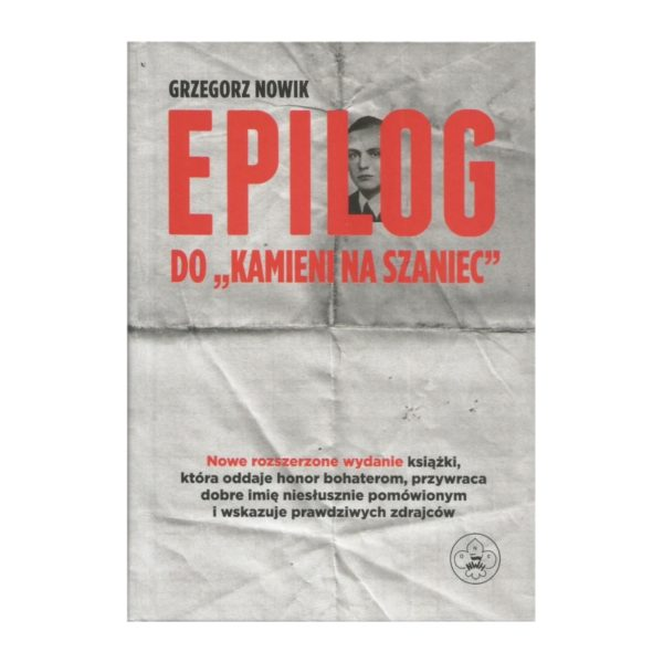 """Epilog do """"Kamieni Na Szaniec"""""""